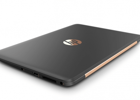 closed hp laptop