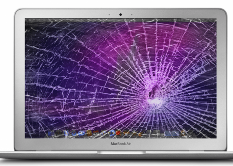 cracked mac laptop screen